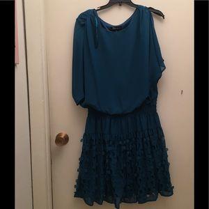 SL fashions Cutout circle cut out sleeve dress